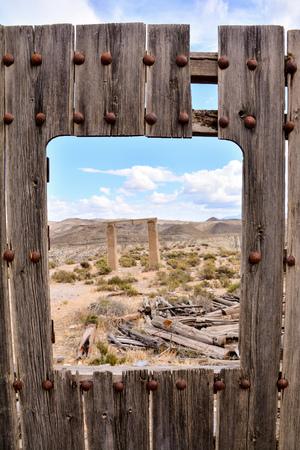 View of the Desert Tabernas in Almeria Province Spain Stock Photo