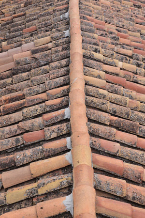 roof texture: Photo Picture of Tiles on the Building Roof Texture