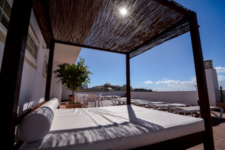 solarium: Photo Picture of Solarium Balcony of a luxury hotel