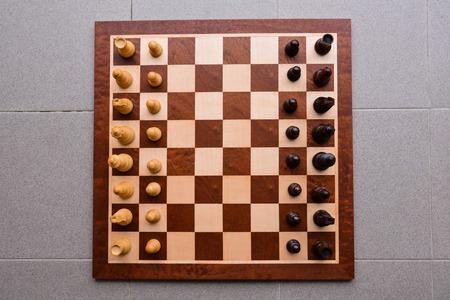 pensamiento estrategico: Photo Picture of the Classic Wooden Chess Piece