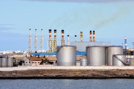 Photo Imagen de una nave industrial en el Puerto