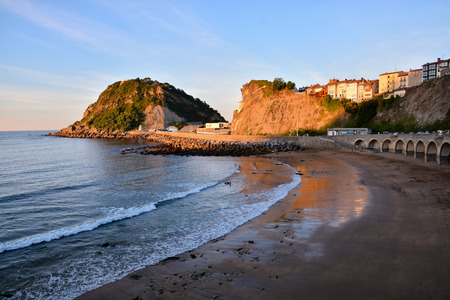 the basque country: Photo picture landscape in Town of Getaria Basque Country Spain