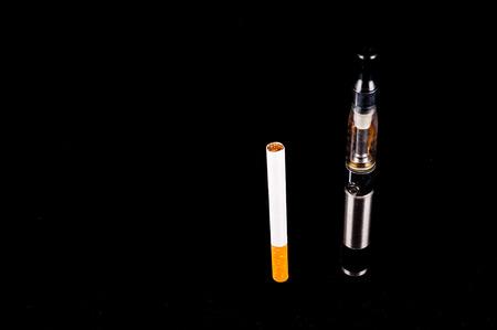 e cig: Modern Metal Electronic Cigarette E Cig Vaporizer
