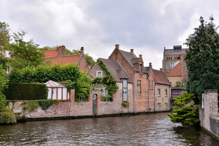 arching: Photo Picture of Classic Architecture European Building Village Brugge in Belgium
