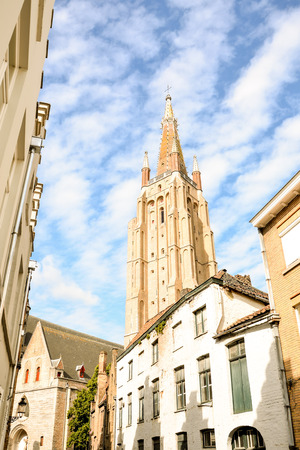 Photo Picture of Classic Architecture European Building Village Brugge in Belgium