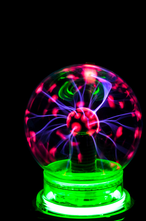 static: Plasma Static Electricity on a Tesla Sphere