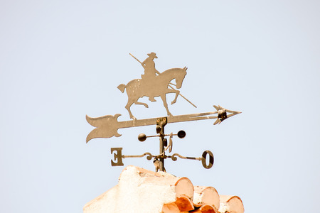 vane: Photo picture of a Horse-shaped weather vane