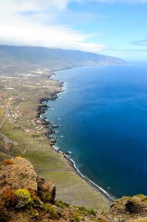 Aerial View Of El Hierro Canary Island Spain