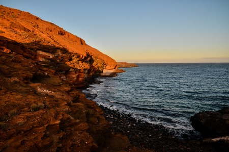 gran canaria: Volcanic Rock Basaltic Formation in Canary Islands