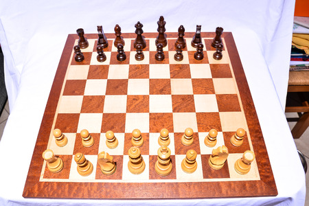 battle plan: Photo Picture of the Classic Wooden Chess Piece