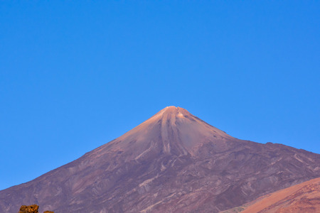 volcan: Photo Picture of the Beautiful Volcan Basaltic Mountain