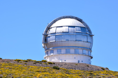 astronomical: Photo Picture of a Modern Scientific Astronomical Observatory Telescope Stock Photo