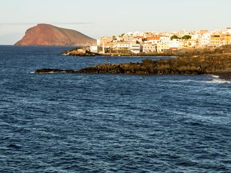 스페인 카나리아 제도에서 바다 마을입니다.