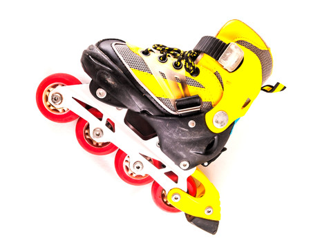 Classic Style Vintage Consumed Old Roller Skate