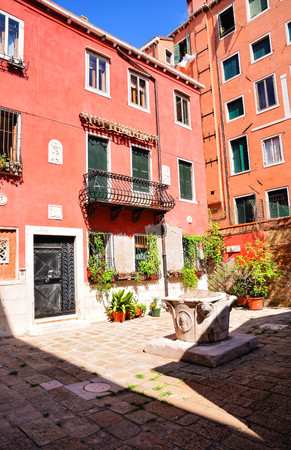 venice: Photo Picture View of the Famous Venice Italian City Stock Photo