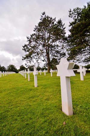 Photo Picture of French American Cemetery in Normandy