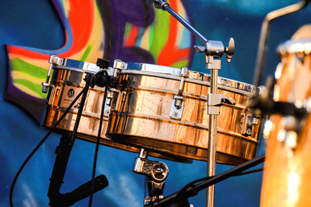 rhythm rhythmic: Photo picture of classic barrel drum band orchestra Stock Photo