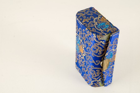 Chinese Vanity Mirror Box on a White Background