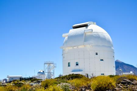 Télescopes de l'Observatoire astronomique du Teide