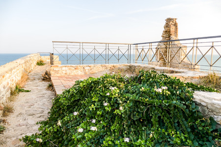 Ortona Italy city on the Adriatic sea with great port medieval castle and nice historic center Abruzzo Stock Photo