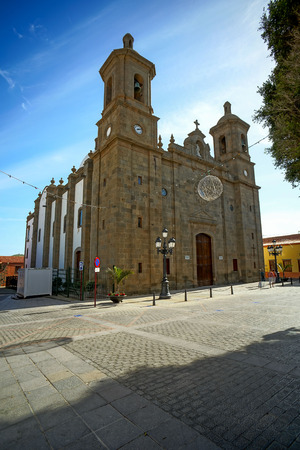 Photo Picture of a Small Church in Spain Standard-Bild