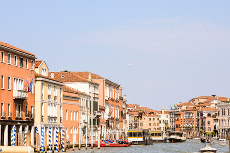 Photo Picture View of the Famous Venice Italian City Banque d'images