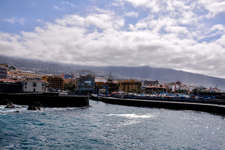 View on Puerto de la Cruz Tenerife Canary Islands Spain Stock Photo - 103536476
