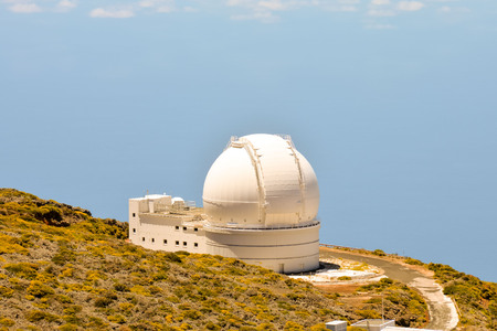 Photo Picture of a Modern Scientific Astronomical Observatory Telescope Stock fotó