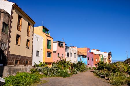 View on Puerto de la Cruz Tenerife Canary Islands Spain