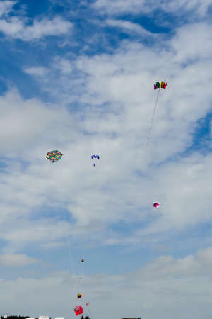 kite in the sky, beautiful photo digital picture Stock Photo