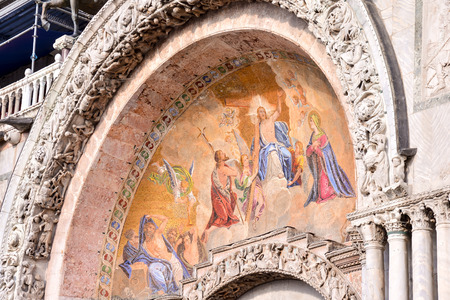 fresco in church, beautiful photo digital picture