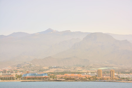 Picture View of Tenerife South in the Canary Islands 写真素材