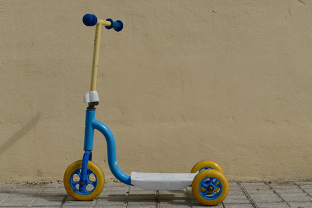 Photo Picture of plastic scooter for children toy