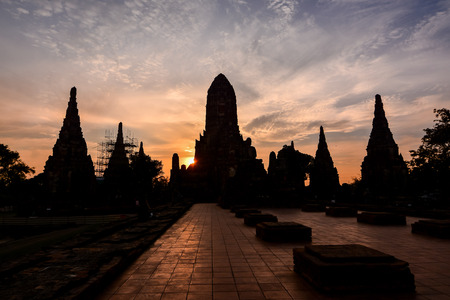 Old Thai Ruins, Ayutthaya,Beautiful photo picture taken in thailand, Southeast Asia