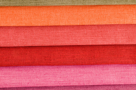 Photo picture Samples of colored cloth background texture 写真素材
