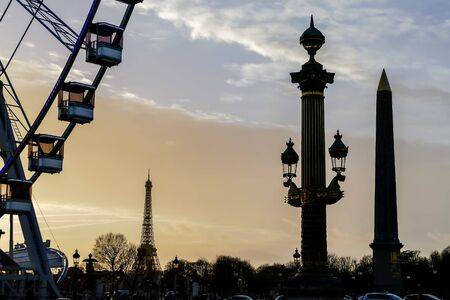 Photo image a Beautiful panoramic view of Paris City