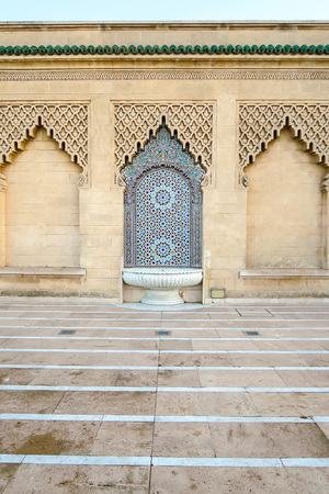 old door of the mosque in morocco, beautiful photo digital picture Imagens