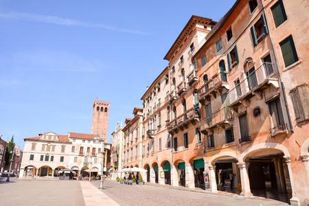 Photo Picture of the Medieval City Bassano del Grappa Archivio Fotografico