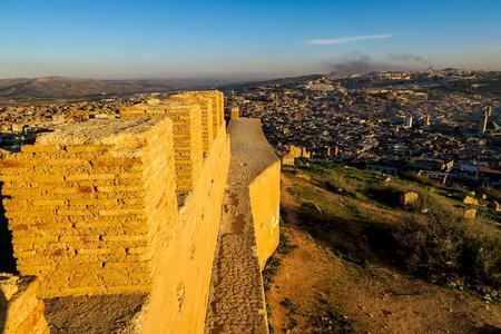 View of Medina in fes morocco, beautiful photo digital picture Standard-Bild - 118153443