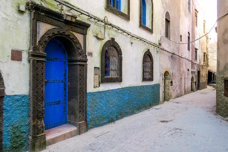 old door in wall, beautiful photo digital picture Standard-Bild - 118376349