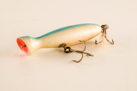 Photo Picture of a Classic Colored Fishing Lure Reklamní fotografie