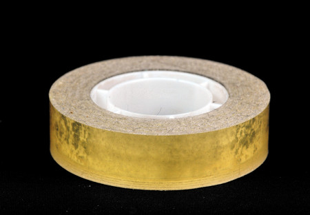 Picture of a tape roll on a dark background