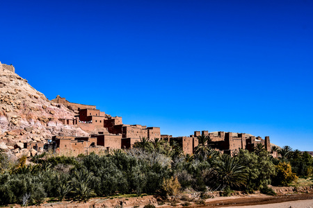 view of old town in Morocco Africa, beautiful photo digital picture Standard-Bild - 118800368