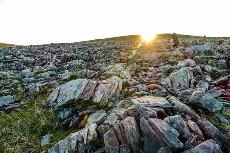rocks on beach, beautiful photo digital picture