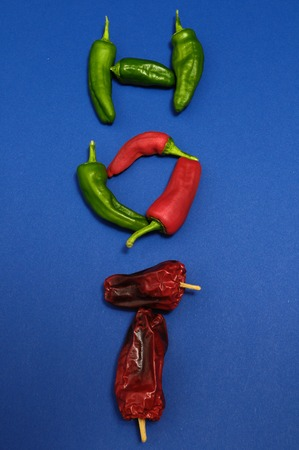 Some Very Hot Chili Peppers Ready to Cook