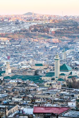 View of Medina in fes morocco, beautiful photo digital picture Stock Photo