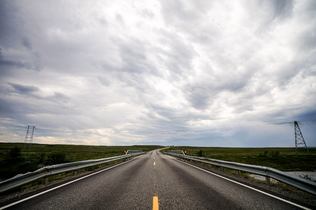 road and sky, beautiful photo digital picture Stock Photo