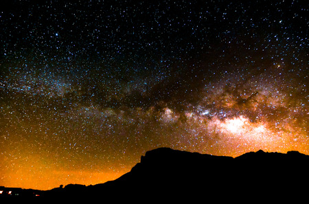 Noche Cielo Imagen Oscuridad Planetas y Estrellas