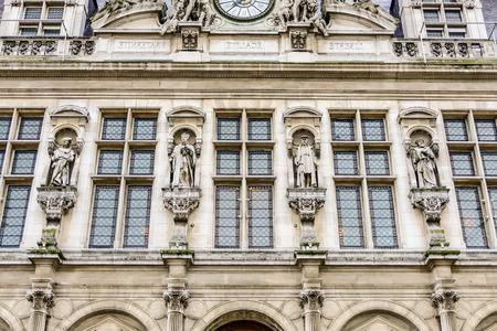 Photo image a Beautiful panoramic view of Paris City
