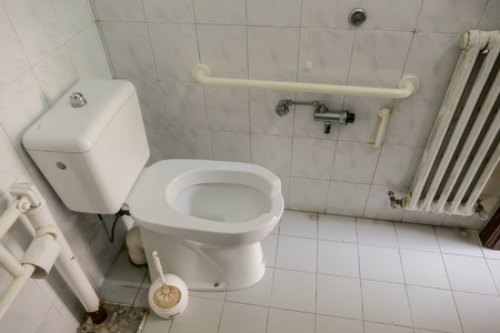 modern private restroom toilet public bathroom interior 스톡 콘텐츠